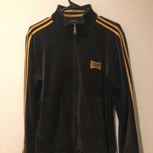 Burberry Velour Track Jacket